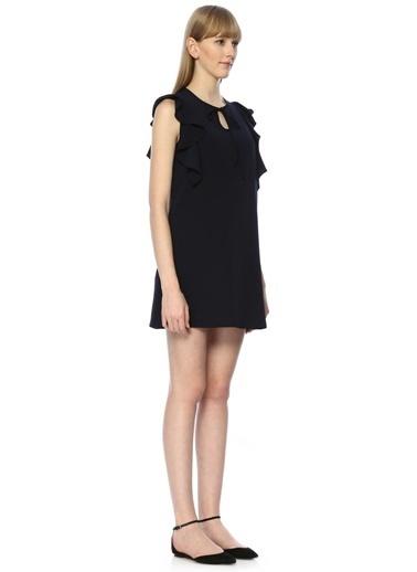 Belle Epoque Elbise Lacivert